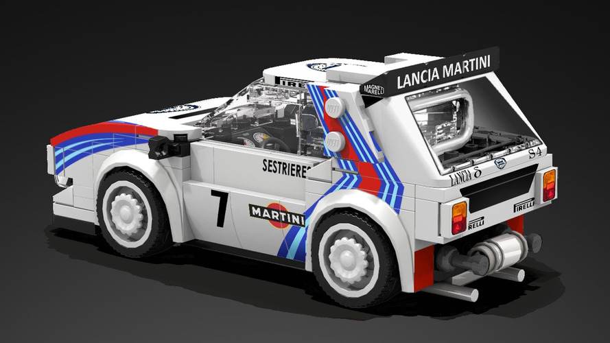 lego lancia delta s4 proposal could be your toy rally champion. Black Bedroom Furniture Sets. Home Design Ideas