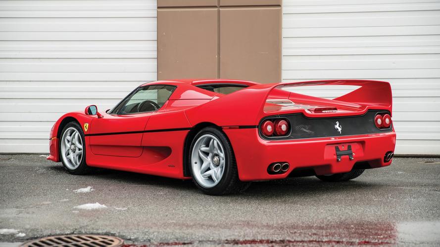 El Ferrari F50 de Mike Tyson, vendido por 2,64 millones de dólares