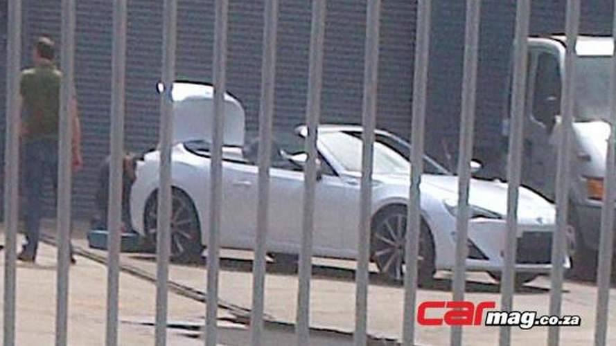 Toyota GT 86 Convertible spied in South Africa