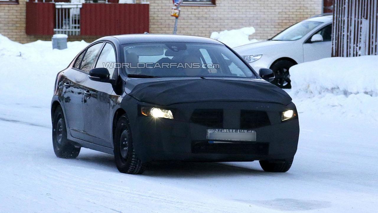 2014 Volvo S60 facelift 23.1.2013