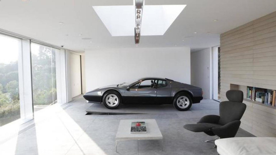 Take a look at a house built around a Ferrari 512 BBi [video]