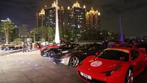 Ferrari's 20th anniversary in China 22.11.2012