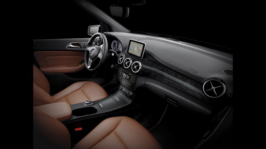 Dentro la nuova Mercedes Classe B
