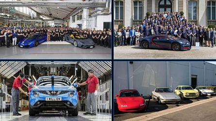 Fabricación de coches: 8 cifras redondas de 2018
