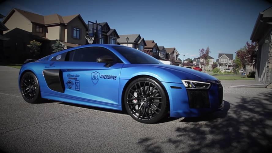 Watch A Detailer Make A Dirty Audi R8 Shine Like A Gem