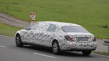 2016 Mercedes-Benz S-Class Pullman spy photo