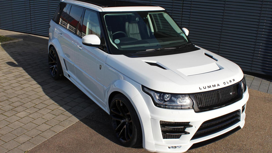 Range Rover gains widebody kit from Lumma Design