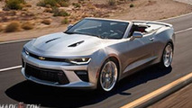 2016 Chevrolet Camaro Convertible leaked photo