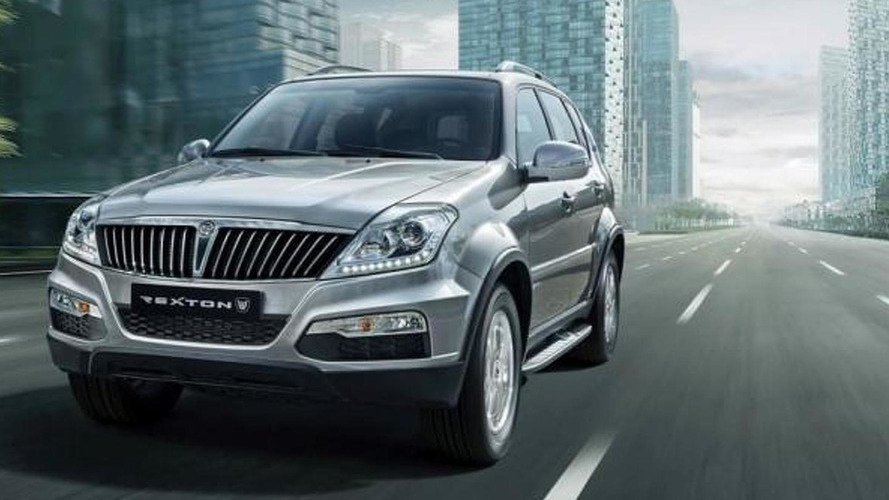 SsangYong Rexton facelift revealed