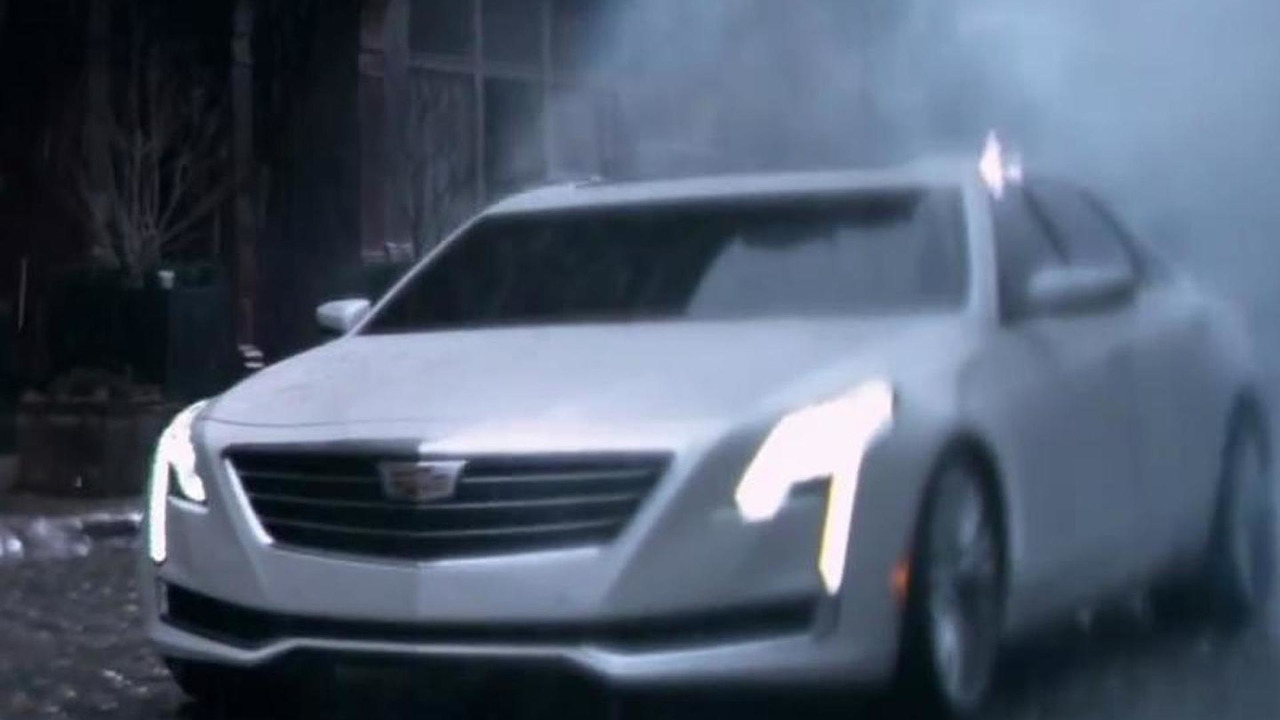2016 Cadillac CT6 screenshot from video