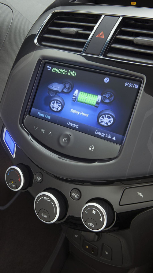 Chevrolet lowers the base price of the 2015 Spark EV