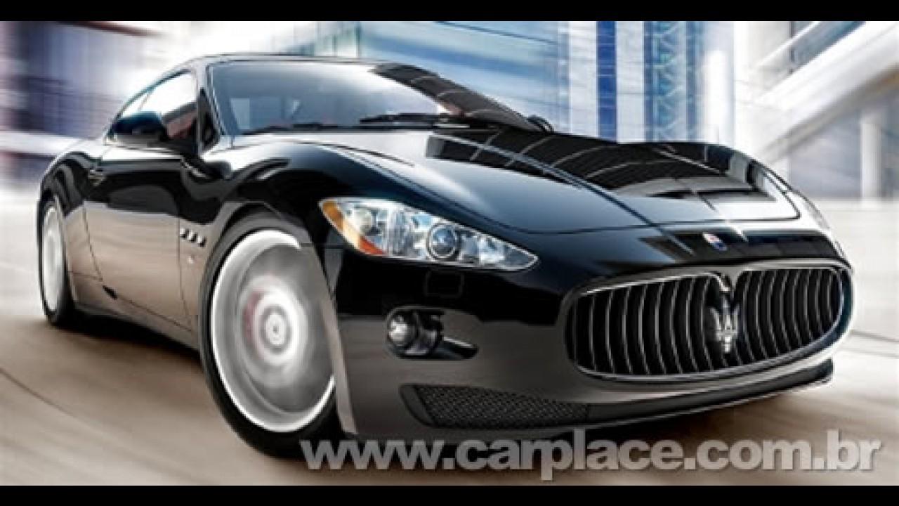 Salão de Paris 2008: Maserati mostrará o GranTurismo MC Concept de 450 cv