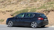 Peugeot 308 Refresh Spy Shots