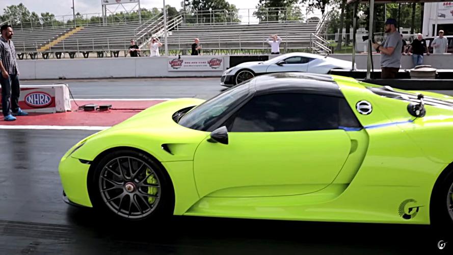 VIDÉO - La Rimac Concept_One défie la Porsche 918 Spyder