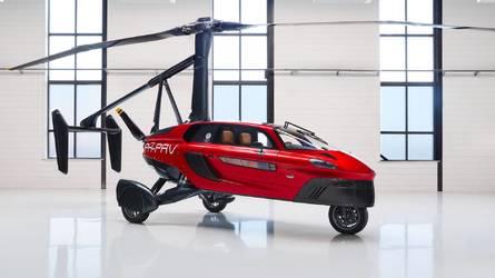 Henüz lisansını alamayan uçan otomobil Pal-V Liberty Cenevre'de