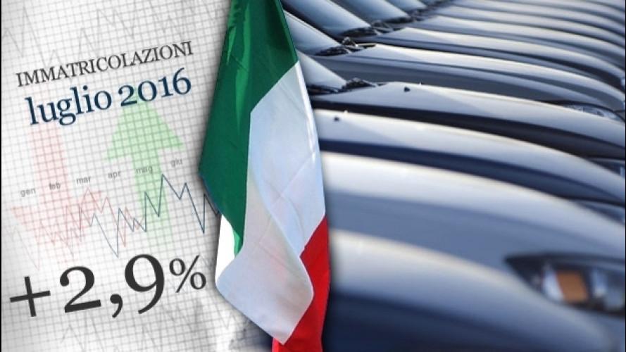 Mercato auto, l'Italia rallenta