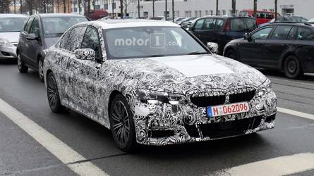 2019 BMW 3 Series M-Sport Spied Showing More Skin