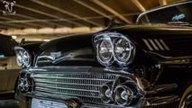 Otoparkta araç koleksiyonu