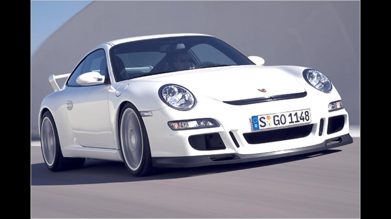 Platz 2: Porsche 911 GT3