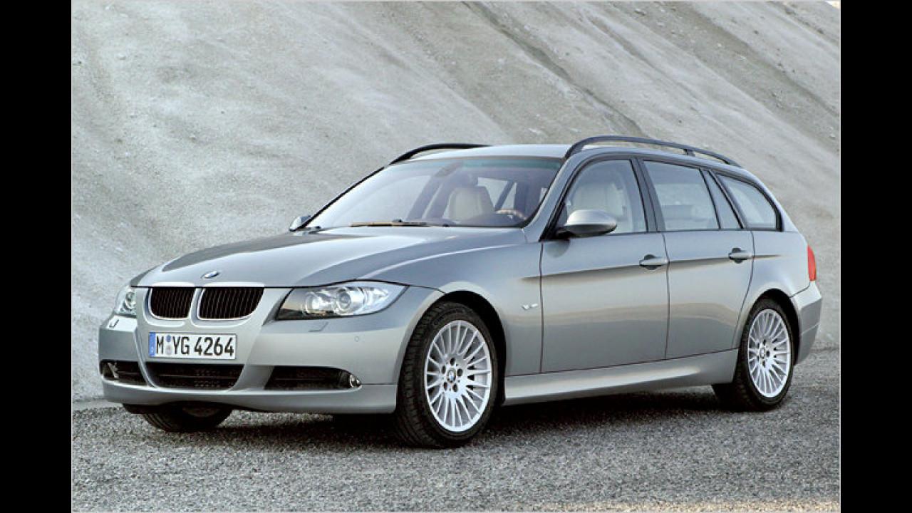 BMW 320d touring DPF