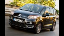 Kunden können beim Citroën C3 Picasso zunächst zwischen zwei Benzinern und einem Diesel wählen