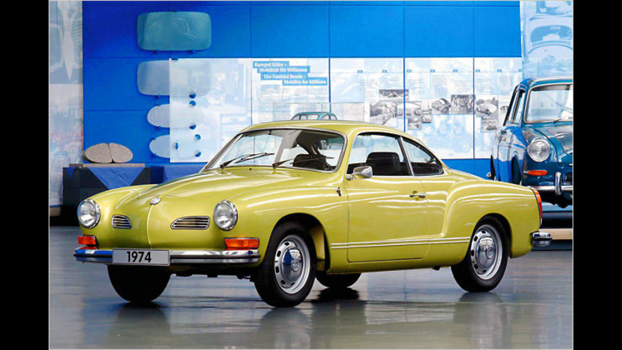 Platz 13: VW Karmann-Ghia