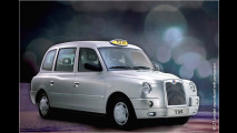 London Taxi fliegt ab