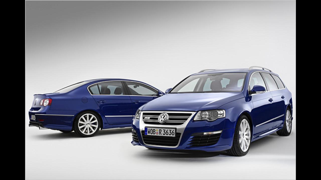 Endlich da: VW Passat R36