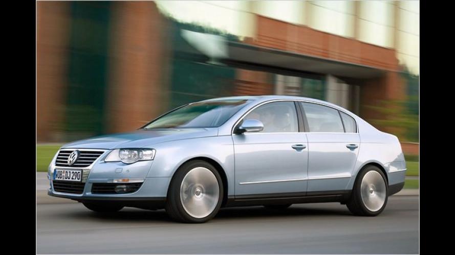Neues von VW: Siebengang-DSG für den Passat 1.4 TSI