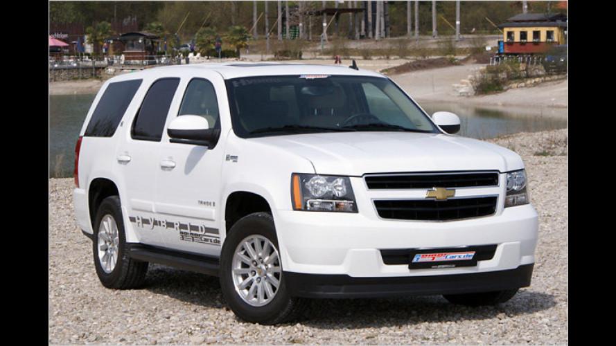 Geiger baut Autogasanlage in Chevy Tahoe Hybrid ein