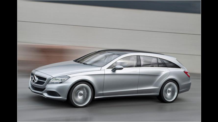 Premiere in Peking: Mercedes Concept Shooting Break