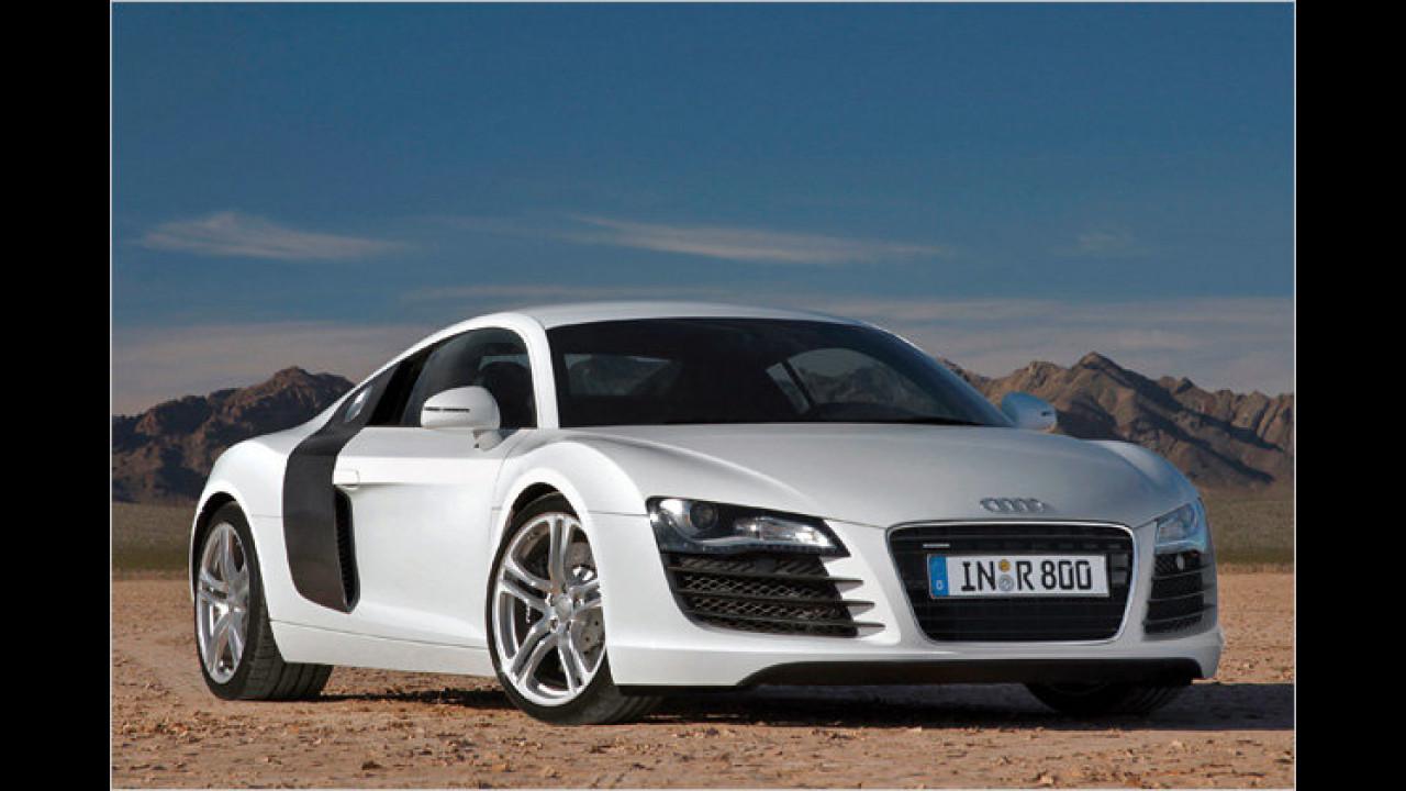 ... wurde der Audi R8