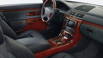 Maybach: Gold instead of a Chrome Interieur