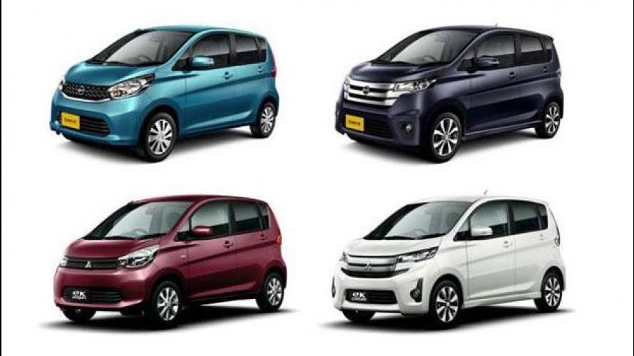Nissan e Mitsubishi, le foto delle minicar per il Giappone