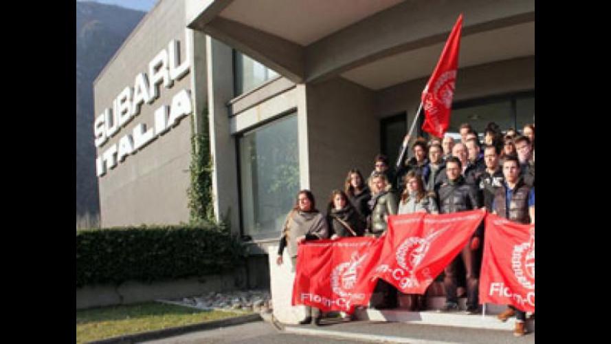 Subaru Italia dice NO al trasferimento a Milano
