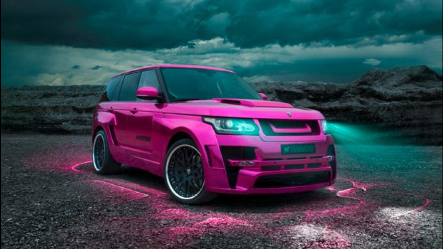 Range Rover Mystere by Hamann
