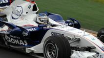 Nick Heidfeld in his F1.07