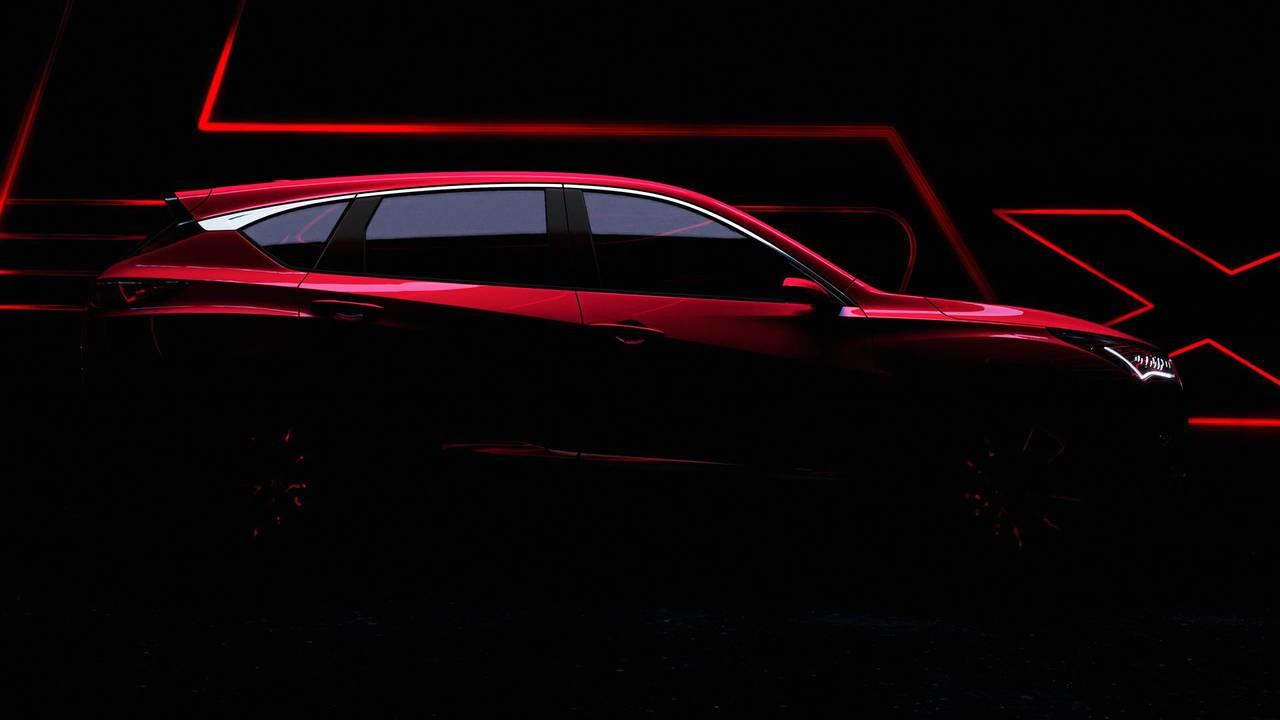 2019 Acura RDX Prototype Teaser