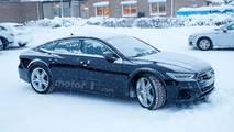 Audi RS 7 Sportback Photos espion