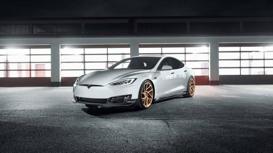 Tesla Model S Tuned By Novitec Is A Subtle Super Sedan