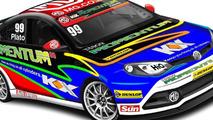 MG6 GT race car design, 2012 British Touring Car Championships 25.01.2012