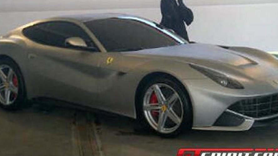 2013 Ferrari 620 GT live shot & alleged official image leaked
