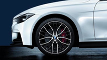 BMW 3 Series with BMW M Performance Parts Wheel and brakes 17.02.2012