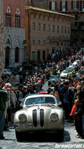BMW 328 Mille Miglia Coupe in Siena