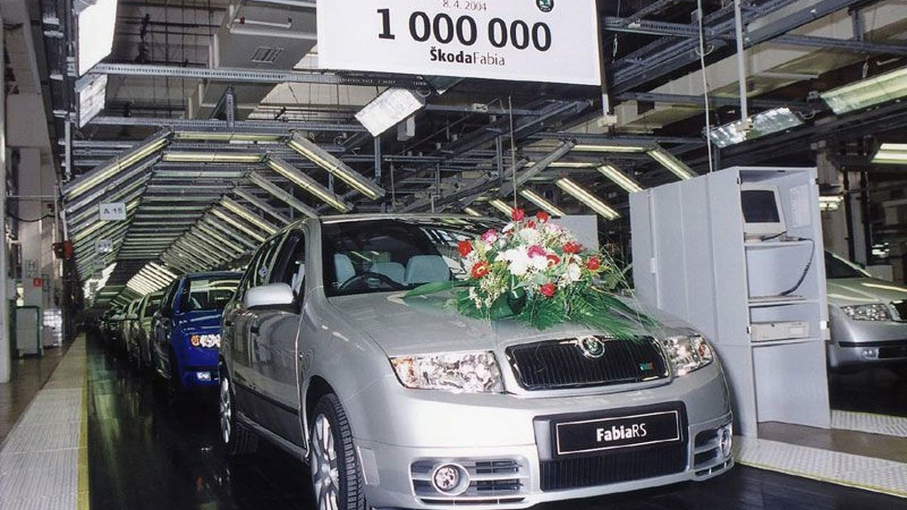 Åkoda Auto Produces the Millionth Fabia