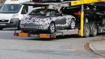 New BMW Z4 Interior Spied on the Street
