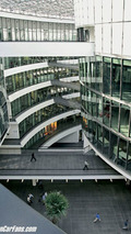 BMW Group Research and Innovation Centre - atrium