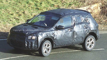 New small Nissan SUV spy photos