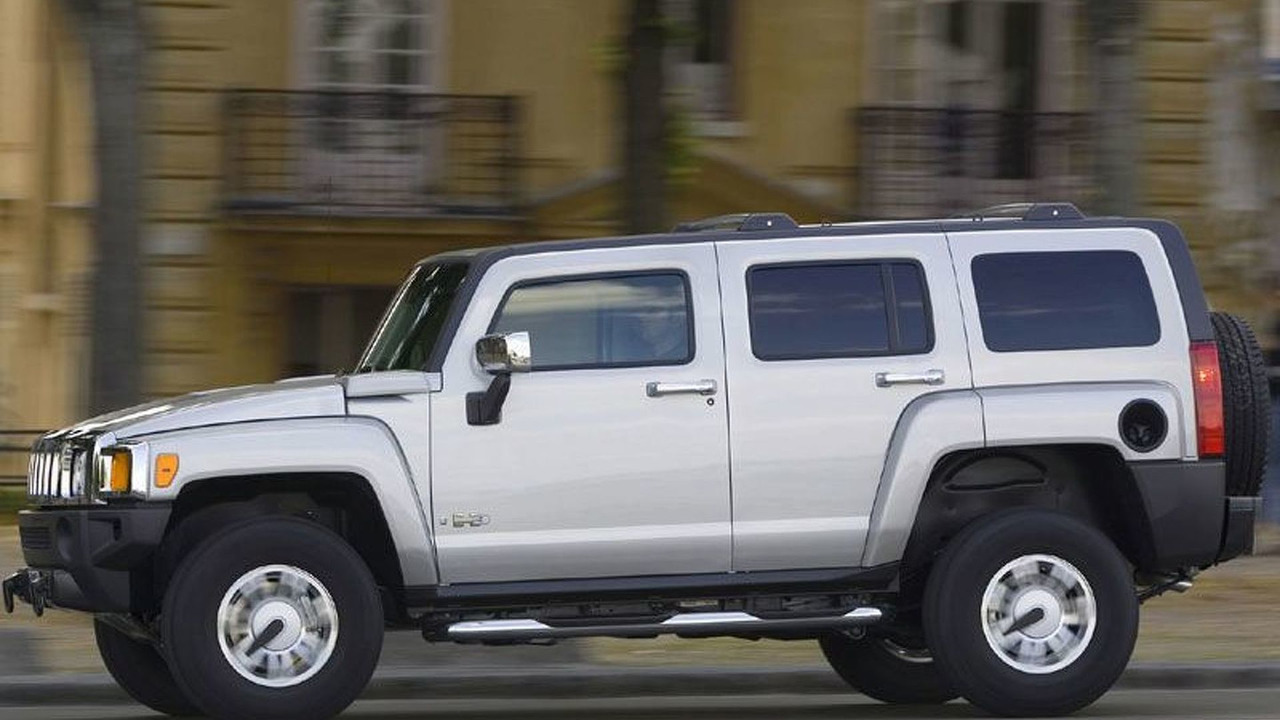 Hummer H3 in Europe