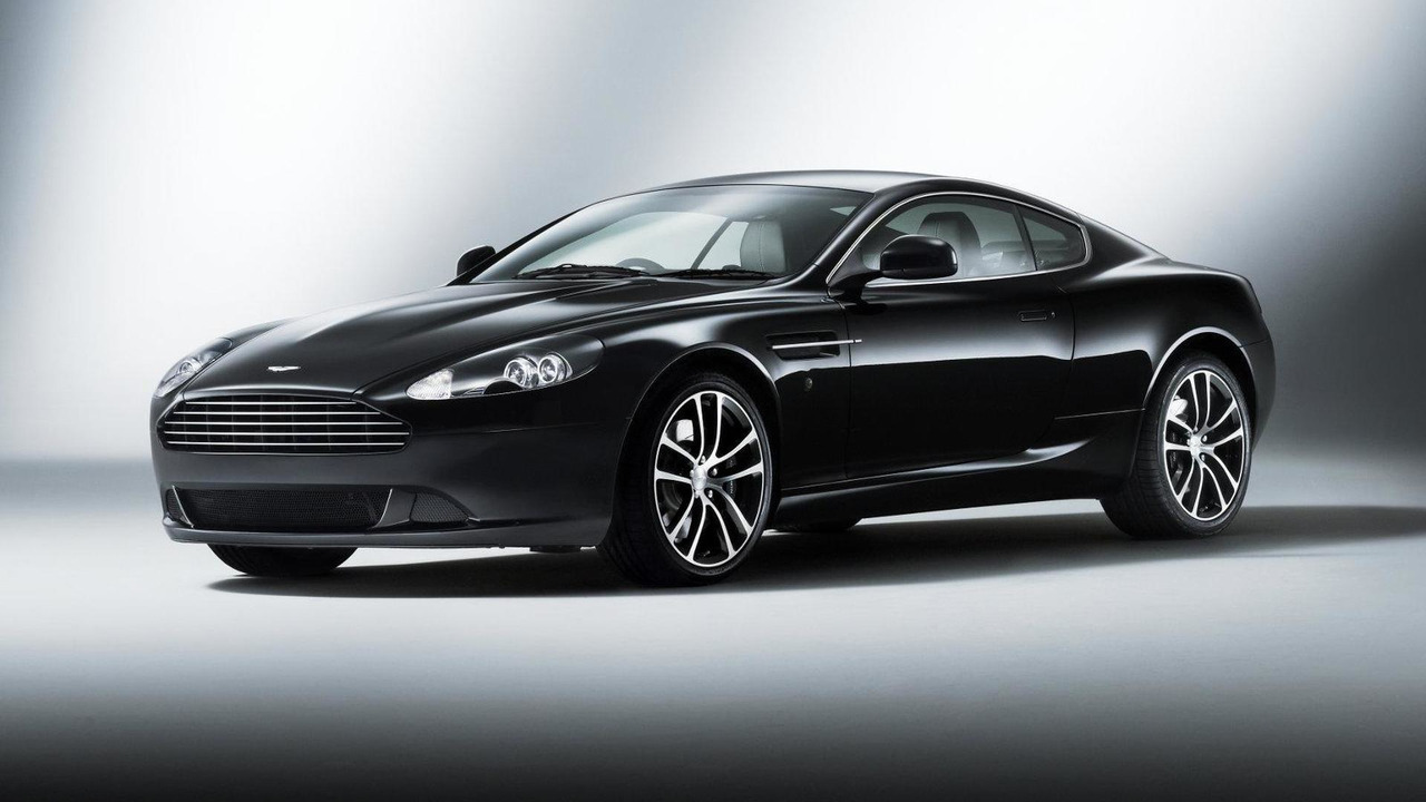 Aston Martin DB9 Carbon Black 22.12.2010